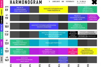 X Lubelskie Dni Fotografii – harmonogram
